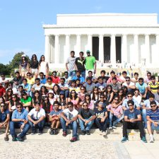PES students in Washington. D.C